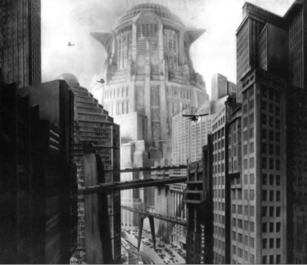 Metropolis - art deco