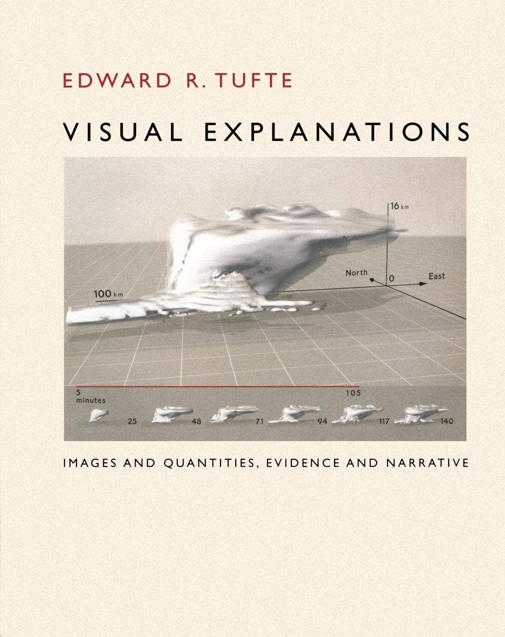 Visual Explanations (front cover) - Edward R. Tufte