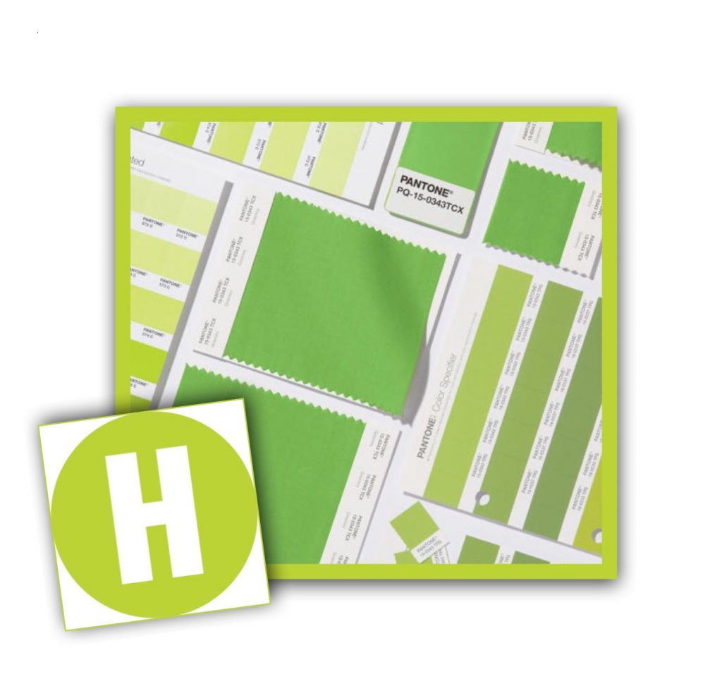 Hausman Green - Greenery is Pantone's color of the year